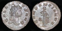 Ancient Coins - Gallienus Antoninianus - ABVNDANTIA AVG - Rome Mint