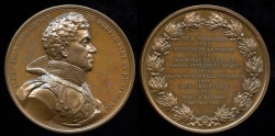World Coins - 1815  France - Louis Alexandre Berthier, Prince of Wagram and Neufchâtel and Napoleonic Mashal by Antoine Desboeufs