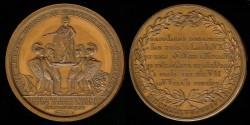 World Coins - 1804 France – Coronation of Napoleon by Jean-Baptiste Merlen
