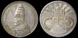 World Coins - 1975 Vatican - Pope Paul VI Jubilee Year Commemorative Medal