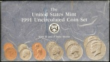 Us Coins - 1991 US Mint Set