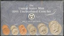 Us Coins - 1991 US Mint Set