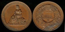 World Coins - 1844 Germany – German Industrial Exposition in Berlin