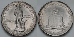 Us Coins - 1925 Lexington-Concord Sesquicentennial Commemorative Silver Half Dollar (Only 162,013 pieces were struck) - BU