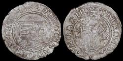 World Coins - 1534 KB Hungary 1 Denar - Ferdinand I - AU Silver
