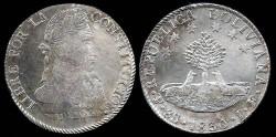World Coins - 1830 JF-PTS Bolivia 8 Soles AU