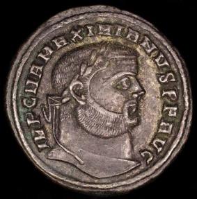 Ancient Coins - Maximianus Follis - GENIO POPVLI ROMANI - Alexandria Mint
