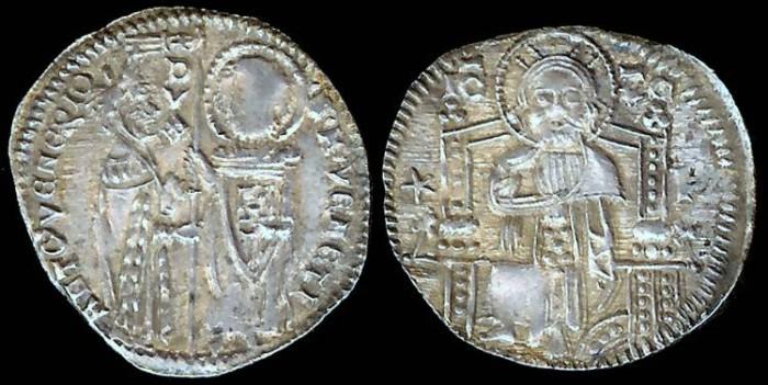 World Coins - 1382-1400 AD - Venice (Italian State) Grosso - Doge Antonio Venier