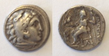 Ancient Coins - Kings of Macedonia Philip III Arrhidaios AR Drachm