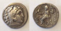 Ancient Coins - Kings of Macedonia Philip III Arrhidaios AR Drachm