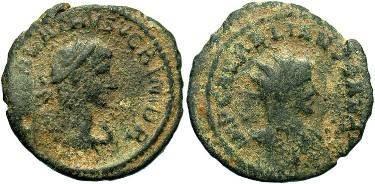 Ancient Coins - Vabalathus AD 271-272, AE Antoninianus