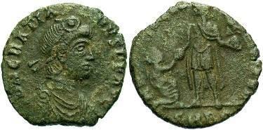 Ancient Coins - Gratian. 367-383 AD. Æ 21mm