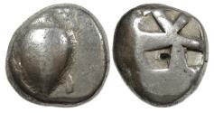 Ancient Coins - Aegina AR Stater : Turtle