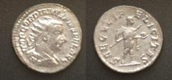 Ancient Coins - Gordian III AR Antoninianus, AD238-244