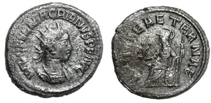 Ancient Coins - Macrianus, Billon Antoninianus, 260 - early 261 A.D., rare