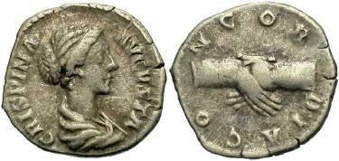Ancient Coins - Crispina, wife of Commodus, AR Denarius