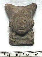 Ancient Coins - Precolumbian Terracotta Head
