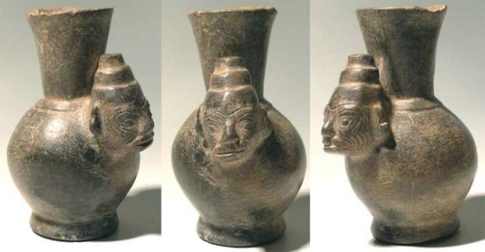 Ancient Coins - Inca Figural Vessel, AD 1300-1500