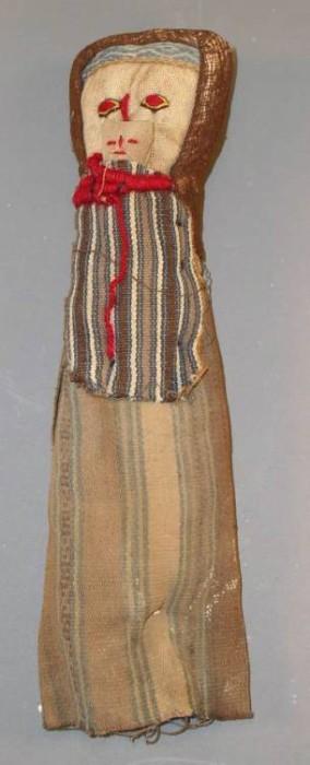 "Ancient Coins - Peruvian ""Mummy"" Doll"