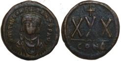 Ancient Coins - Tiberius II Constantine 30 Nummi : Larger 33mm