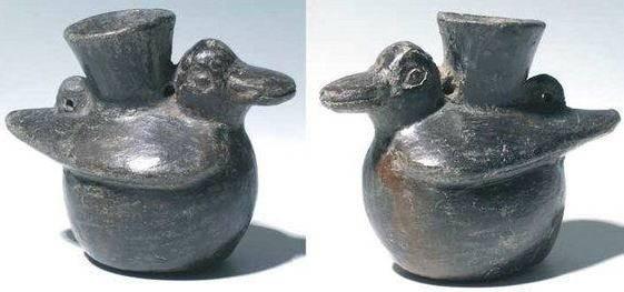 Ancient Coins - Chimu avian vessel, Peru, AD 1100-1450