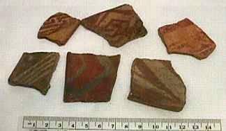 Ancient Coins - Hohokam Pottery Sherd