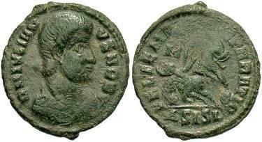 Ancient Coins - Julian II as Caesar AE3