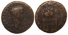 Ancient Coins - Claudius Ae Sestertius : Arch of Nero Claudius Drusus : 34mm