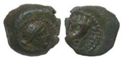 Ancient Coins - Cleopatra VII Philopator, 51 - 30 BC Cyprus