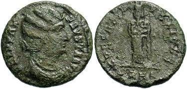 Ancient Coins - Fausta, Wife of Constantine
