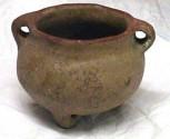 Ancient Coins - Precolumbian BulbousTerracotta Bowl