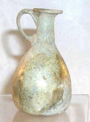 Ancient Coins - Glass Bottle, Roman, AD 100-300