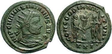 Ancient Coins - Maximianus. AD 285-310, AE Antoninianus