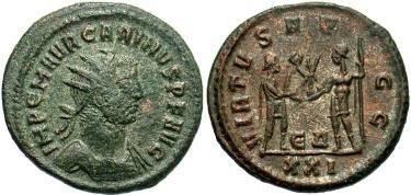 Ancient Coins - Carinus AD 282-285 AE Antoninianus