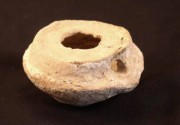 Ancient Coins - Oil Lamp, Islamic wheel-made lamp, 8th to 10th cemtury AD