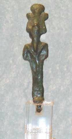 Ancient Coins - Bronze Osiris Figure