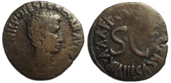 Ancient Coins - Augustus AE As