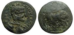 Ancient Coins - Maximus : Ninica-Claudiopolis Cilicia : Wolf and Twins