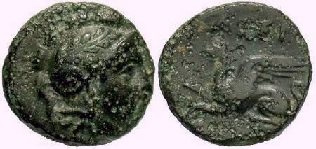 Ancient Coins - Assos, Troas, c. 400-241BC,  AE11