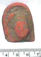 Ancient Coins - Taxila  Terracotta Head  500BC - AD300
