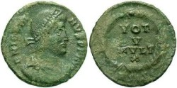 Ancient Coins - Jovian AD 363-364, AE3