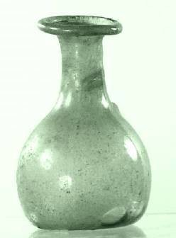 Ancient Coins - Glass Bottle, Roman