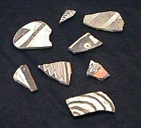 Ancient Coins - Mimbres Pottery Sherd