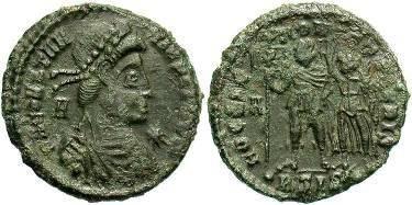 Ancient Coins - Constantius II AD 324-337, AE Centenionalis