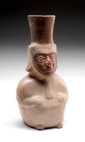 Ancient Coins - Moche Hollow Figure, Peru, AD 50-800
