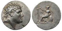 Ancient Coins - Attalos I, Pergamene Kingdom AR Tetradrachm : Athena Seated