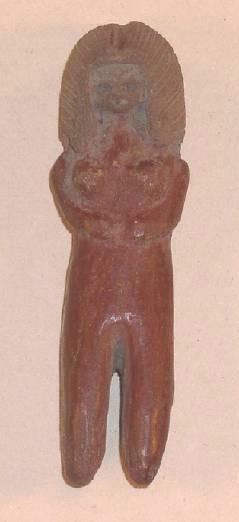 Ancient Coins - Valdivia Female figure