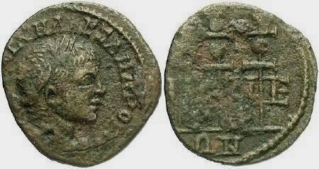 Ancient Coins - Alexander Severus, Nicea, AD 221-235, AE 20