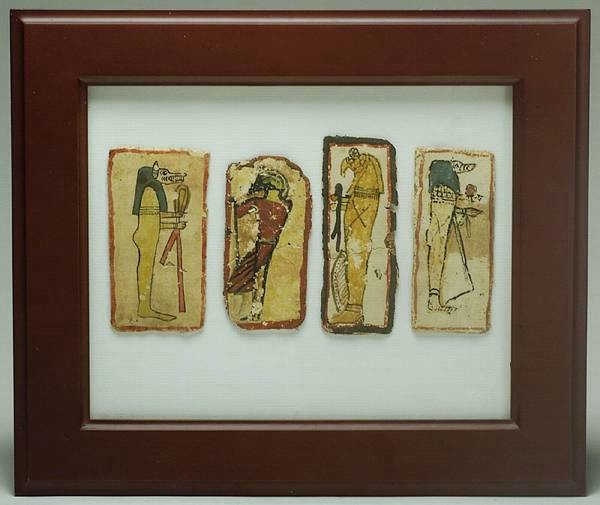 Ancient Coins - Four Sons of Horus Cartonnage