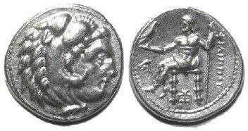 Ancient Coins - Philip III of Macedon, AR drachm